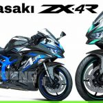 All new kawasaki zx-4r